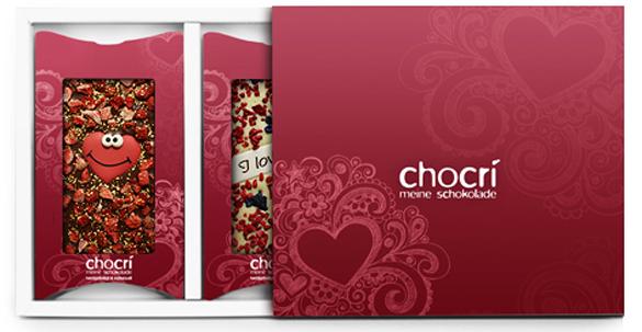 Süße Versuchung zum Valentinstag: Edel-Schokolade für SIE und IHN