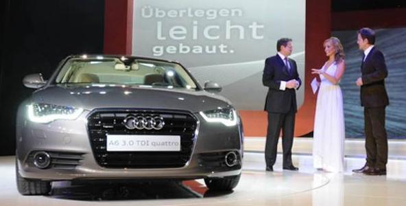 Auto-Audi-Party: München feierte seine neue Business-Limousine A6