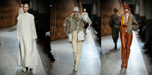 Hermès Kreativdirektor Christophe Lemaire zeigt seine erste Kollektion 2011/2012