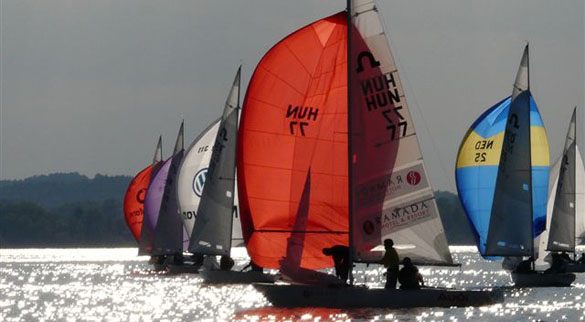 Premiere am Chiemsee: AUDI Soling World Championships 2011 zum 1. Mal in Deutschland