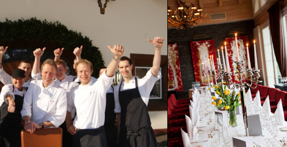 Exklusive Küchenpartys im Luxushotel Grand Tirolia in Kitzbühel