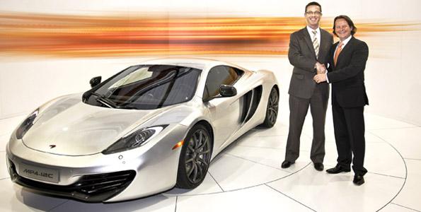 McLaren: Neuer Supersportwagen und Showroom in München