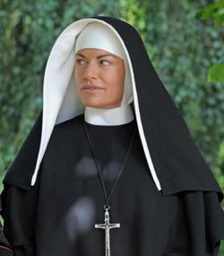 Christine Neubauer: Papst Besuch vor Ostern