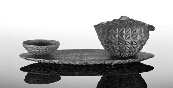 Ein Sammler-Objekt für den Genuss: Tee Set CULA von der Porzellan Manufaktur Nymphenburg