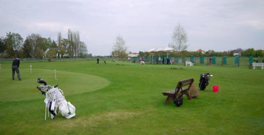 Die angesagteste Adresse für Münchner Schnuppergolfer: Eberle Golf