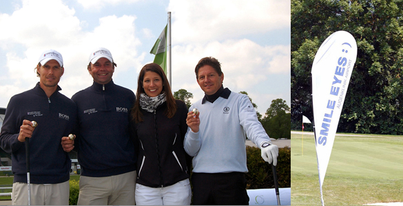 München spielt Golf startet die SMILE EYES TROPHY 2011