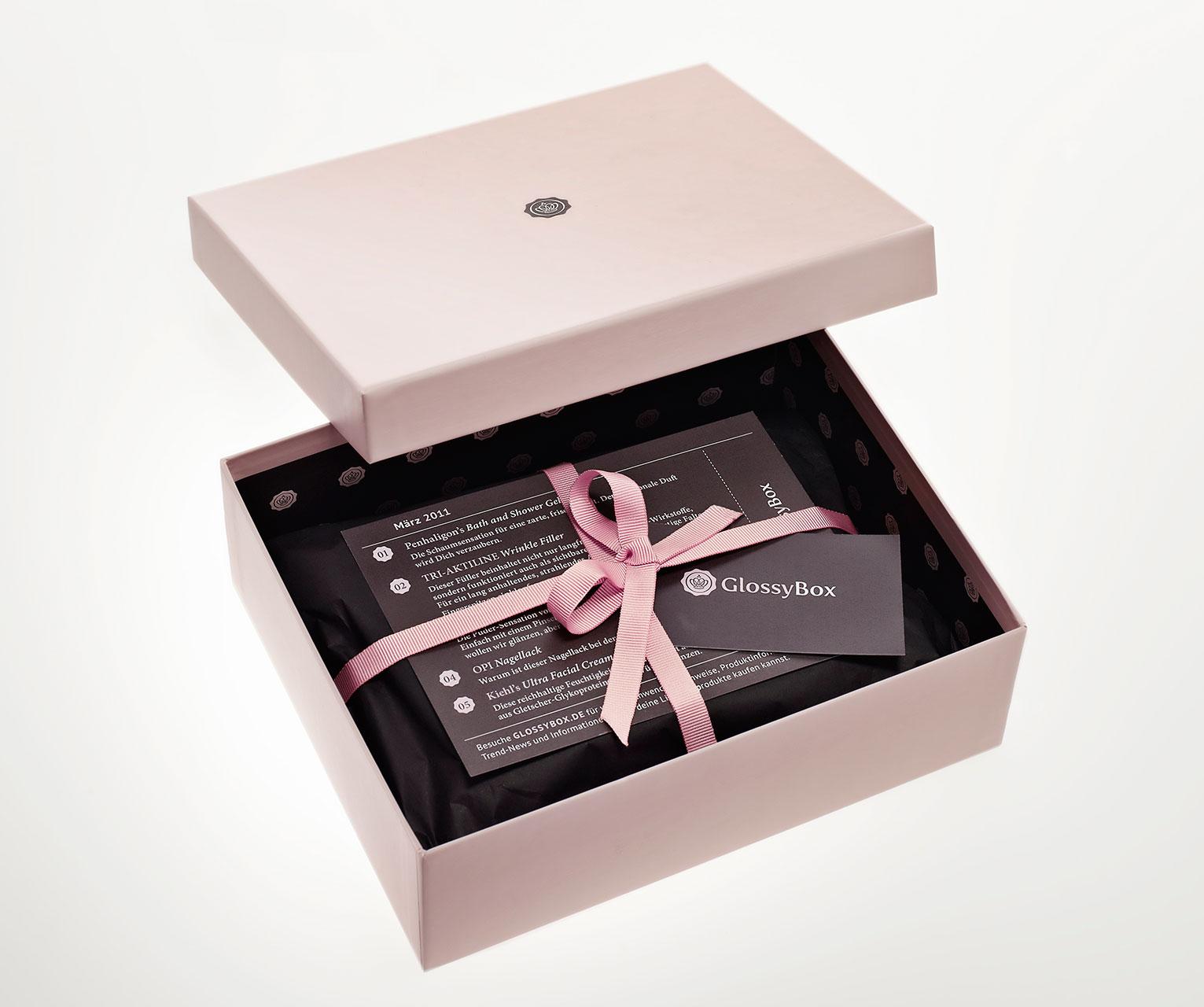 GlossyBox: Praktische Kosmetik-Überraschungsbox