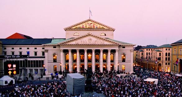 Münchner Opernfestspiele mit Live-Übertragung