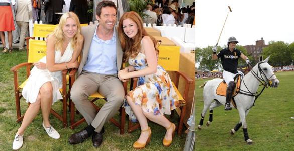 Hugh Jackmann: Polo-Fan par excellence