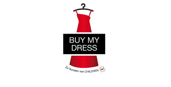 Ersteigern Sie exklusiv mit uns ein Kleid der 'Buy my dress'-Charity-Aktion