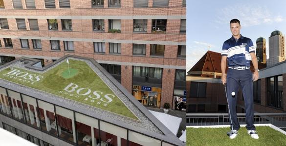 Martin Kaymer München-Attack: Crossgolf in der Landeshauptstadt