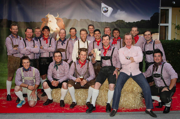 BMW International Open 2011: Players Night mit Lederhosen-Pflicht