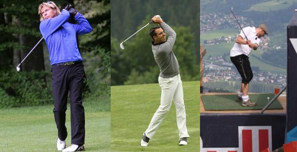 Hansi Hinterseer oder Florian Sailer: Jede Menge Prominenz beim 9. Golffestival Kitzbühel