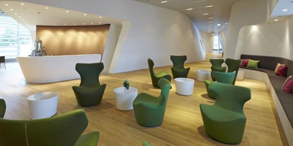 Exklusivste Airport-Lounge Deutschlands: VIP WING in München