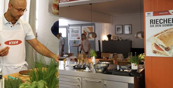 OMV Tankstelle auf Genießer-Mission: VIVA Genusswelt überzeugt Sarah Wiener