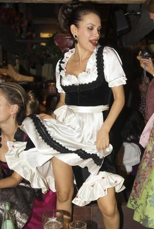 Viktoria Lauterbach: Trachtenlook von Samtherz
