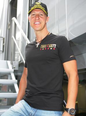 Michael Schumacher: Formel-1-Jubiläum in Spa