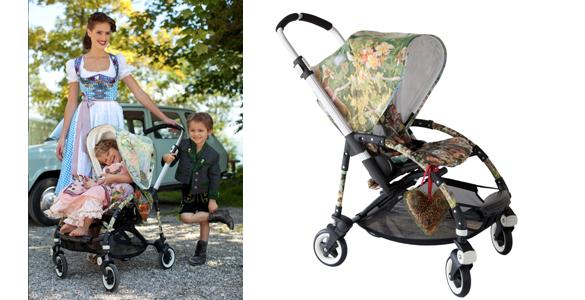 Lola Paltinger: Trachtendesign für Kinderwagen Bugaboo