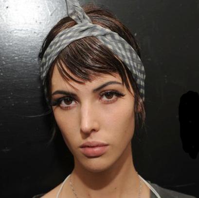 Die neuen Beauty-Looks für F/S 2012: Marc Jacobs