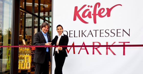 Käfer Delikatessen Markt Neueröffnung in ParsdorfCity