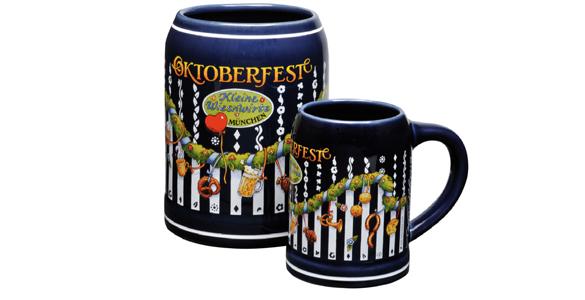 Oktoberfest 2011: Eigener Bierkrug der kleinen Wiesnzelte