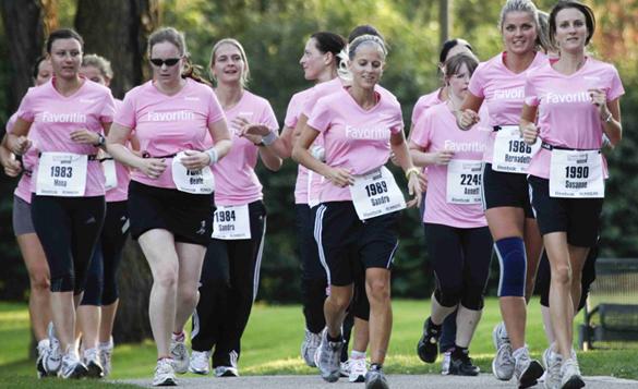 Die zehn schönsten Joggingstrecken Münchens powered by Reebok Women's Run 2011