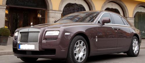 Rolls Royce eröffnet Showroom in München