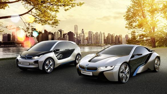 BMW i3 und i8 jetzt in der BMW Welt