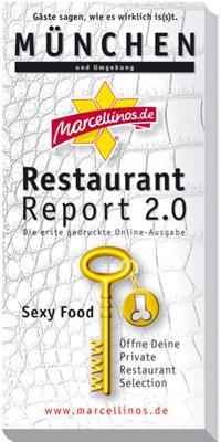 Marcellino's wird sexier: Edition 'Sexy Food' jetzt auch für München