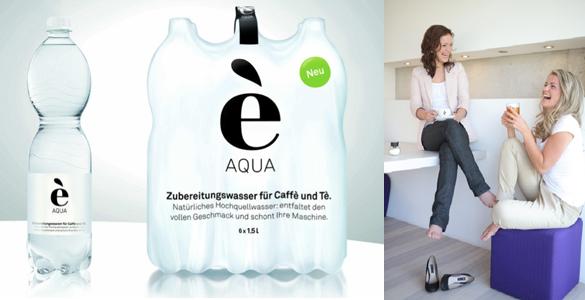 Neues Gourmet-Wasser aus Bayern: è AQUA