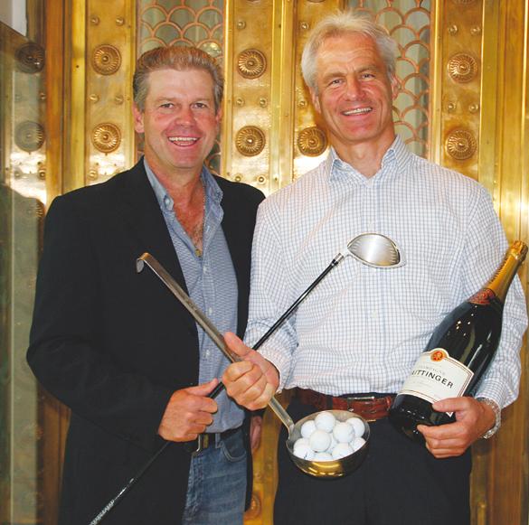 Erster Golf-Stammtisch als fester Golfertreffpunkt im Lenbach