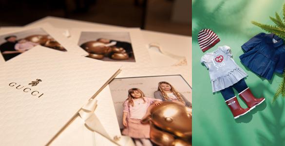 Gucci München präsentiert ersten Kids Corner