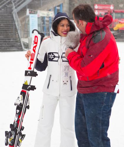 Vanessa Mae: Tauscht Geige gegen Ski