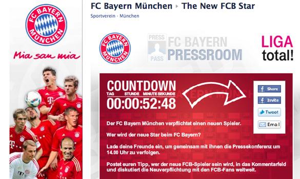 FC Bayern verpflichtet neuen Spieler: Pressekonferenz live im Internet