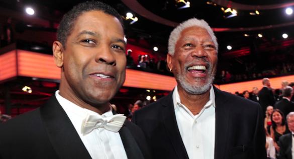 47. Goldene Kamera in Berlin: Morgan Freeman und Denzel Washington ausgezeichnet
