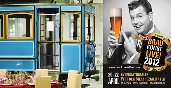 Erstes Internationales Bier-Festival: Braukunst Live!