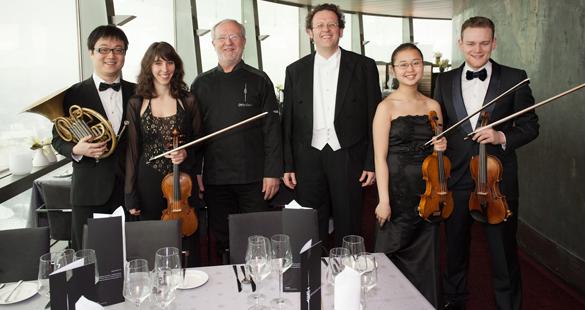 Business-Lunch à la Restaurant 181: Gourmet-Essen mit Bayerischer Philharmonie
