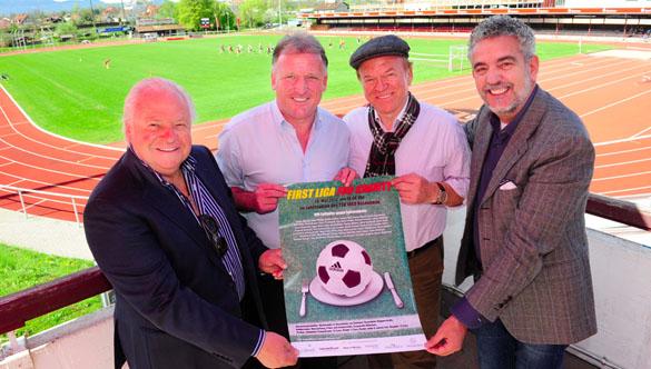 Benefiz-Fußball-Turnier zwischen Starköchen und Sportprofis