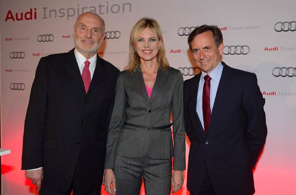 Exklusive Veranstaltungsreihe 'Audi Inspiration' gibt es nur in München