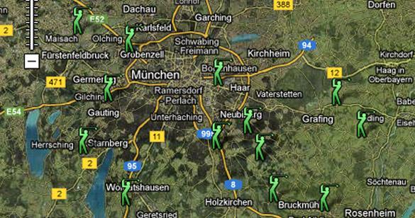 Golf-Erlebnistag: 20 Münchner Golfclub sind dabei