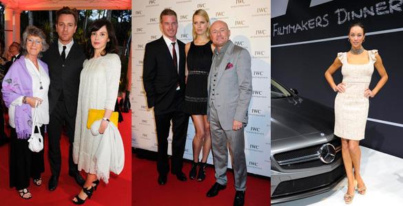 Lilly Becker zwischen Hollywood-Stars: IWC-Uhren-Party in Cannes