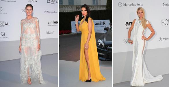 Heidi Klum, Kim Kardashian oder Paris Hilton: Wer war die Schönste bei der amfAR-Gala