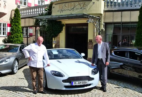 Aston Martin München: Mit über 2.000 PS zu Heinz Winkler