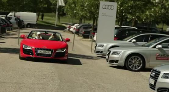 Golf meets PS: Audi Driving Experience während der LGO