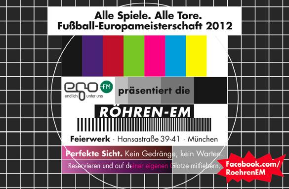Fußball-Europameisterschaft 2012: Public Viewing nostalgisch