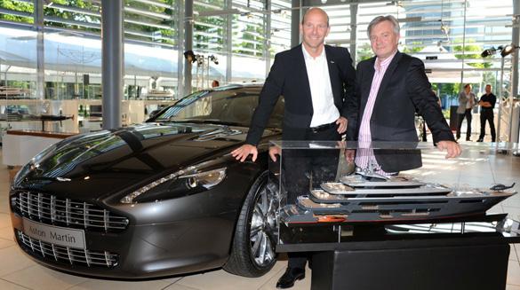 Aston Martin meets Alpha-Yachten: 400 handverlesene Gäste feierten in München