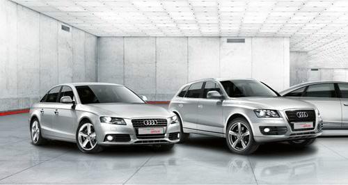 Weltweit größter Audi Gebrauchtwagenstandort München-Eching
