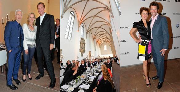 Kunst in der Kirche: Volkswagen und das MoMA luden zum dOCUMENTA-Dinner nach Kassel!