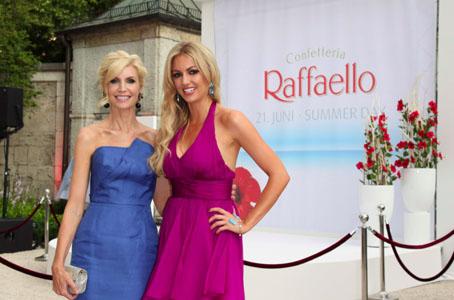 Erster Raffaello Summer Day 2012: Gilian Anderson kam zur kalorienreichen Party nach München