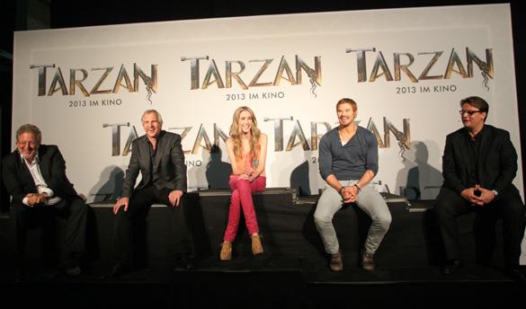 Bekannteste Dschungelkönig der Welt wird in München gedreht: Tarzan 3D kommt 2013 in die Kinos